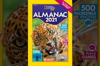 'The National Geographic Kids Almanac 2021' and Almanac Challenge are here!