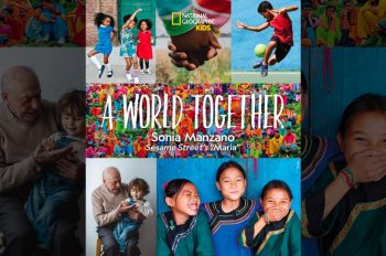Sonia Manzano Celebrates New Book Inspiring Unity, A World Together