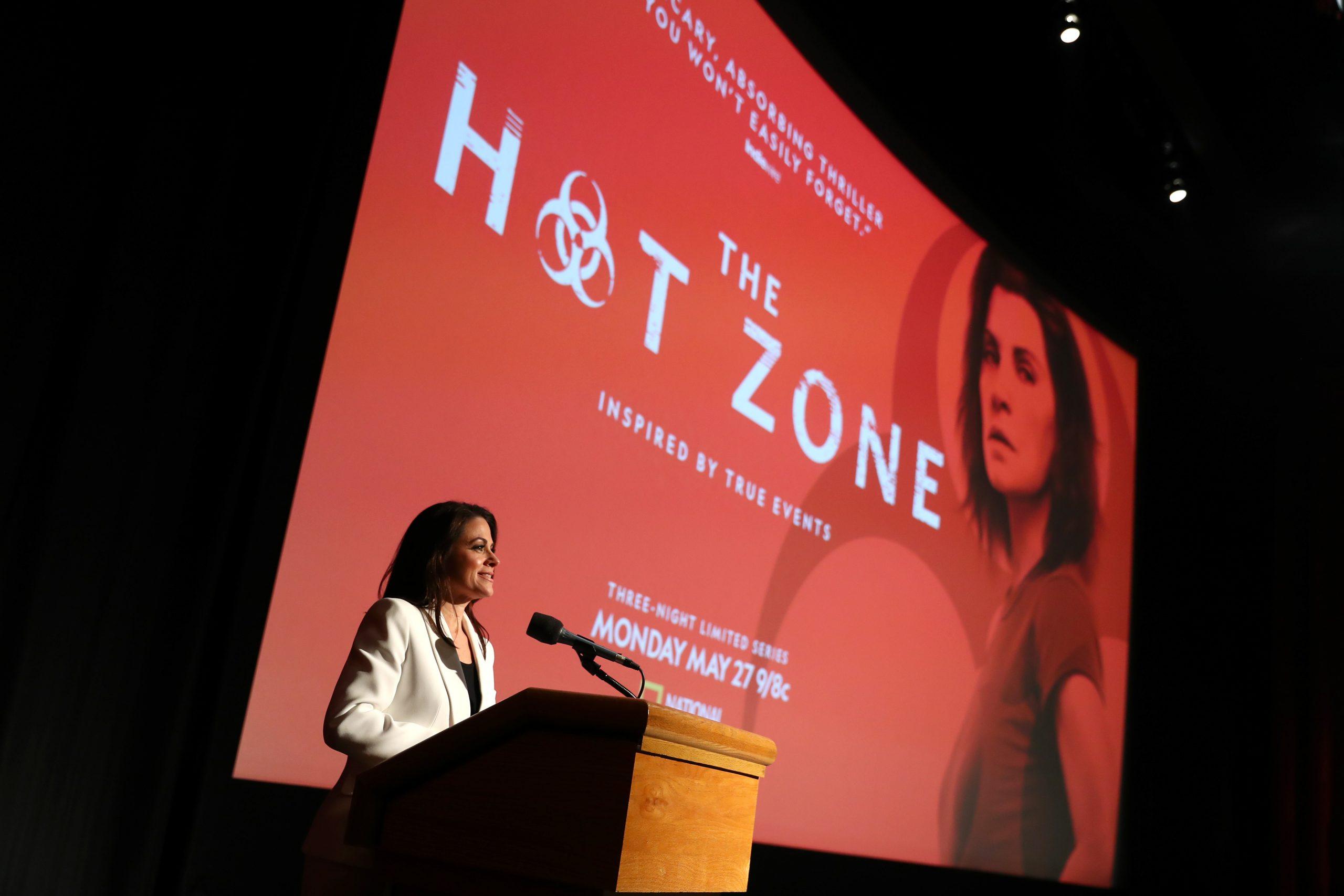 photo of hot zone premiere