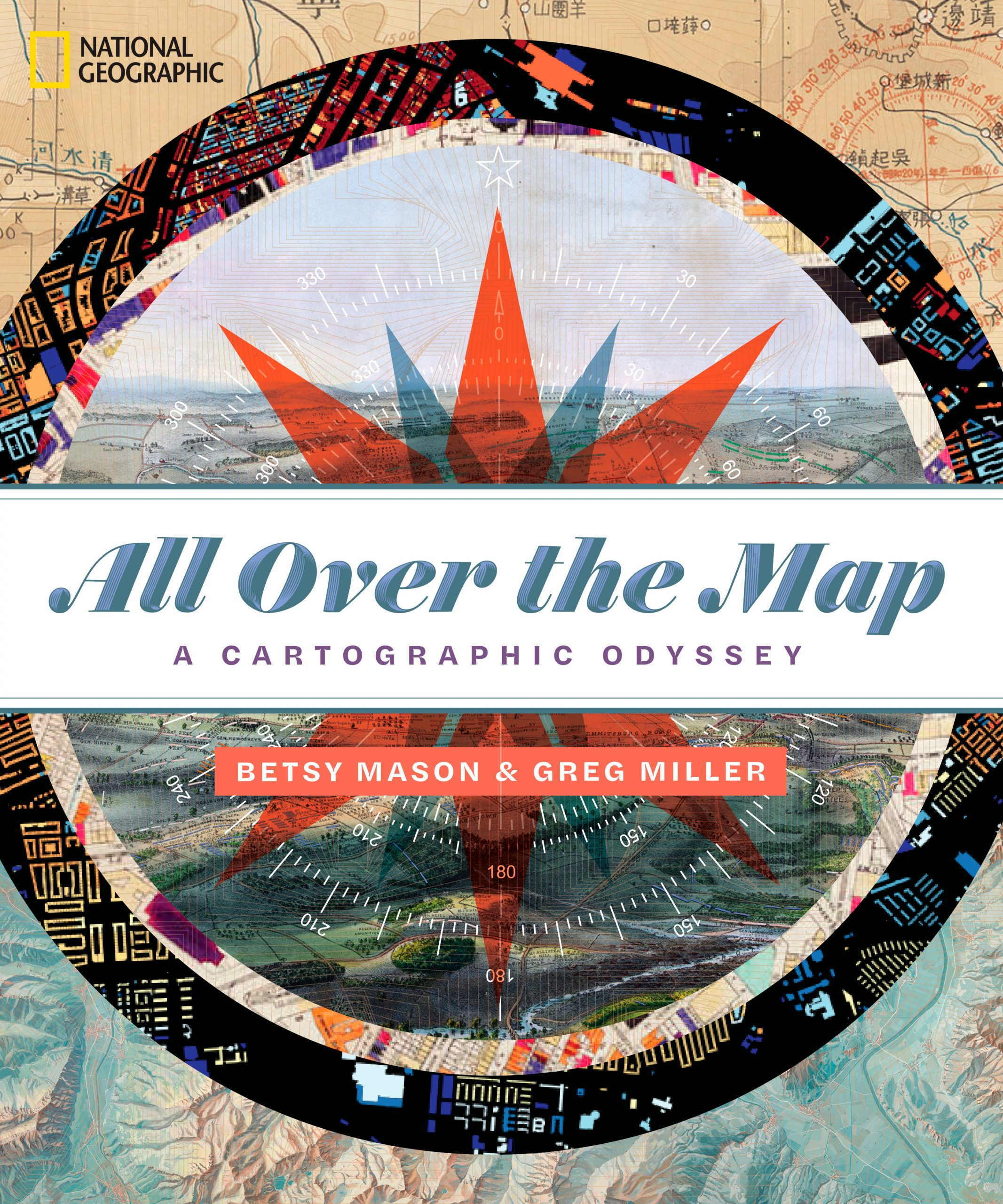 picture of All Over the Map cover