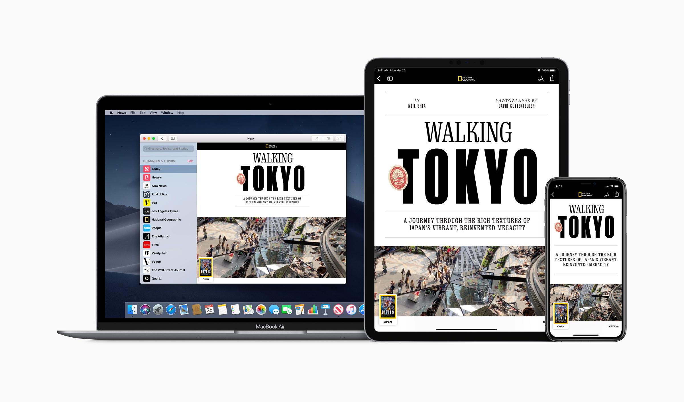 Photo of Apple News+