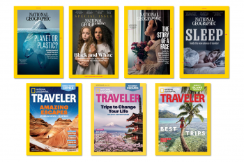 7 National Geographic and Traveler Magazine Issues Up for Best Magazine Cover of 2018