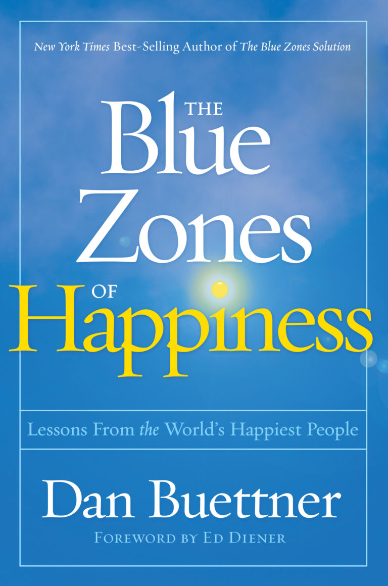 picture of Blue Zones of Happiness cover