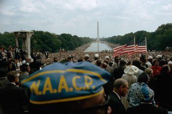National Geographic Commemorates March on Washington
