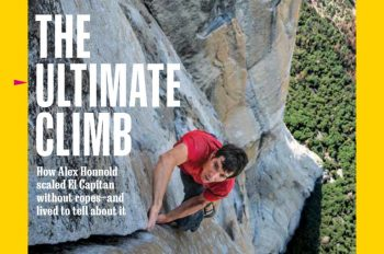 National Geographic Magazine, February 2019: The Ultimate Climb
