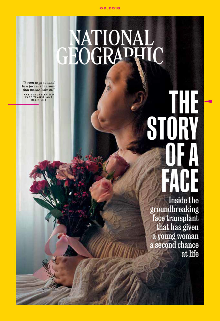 picture of National Geographic September 2018 cover