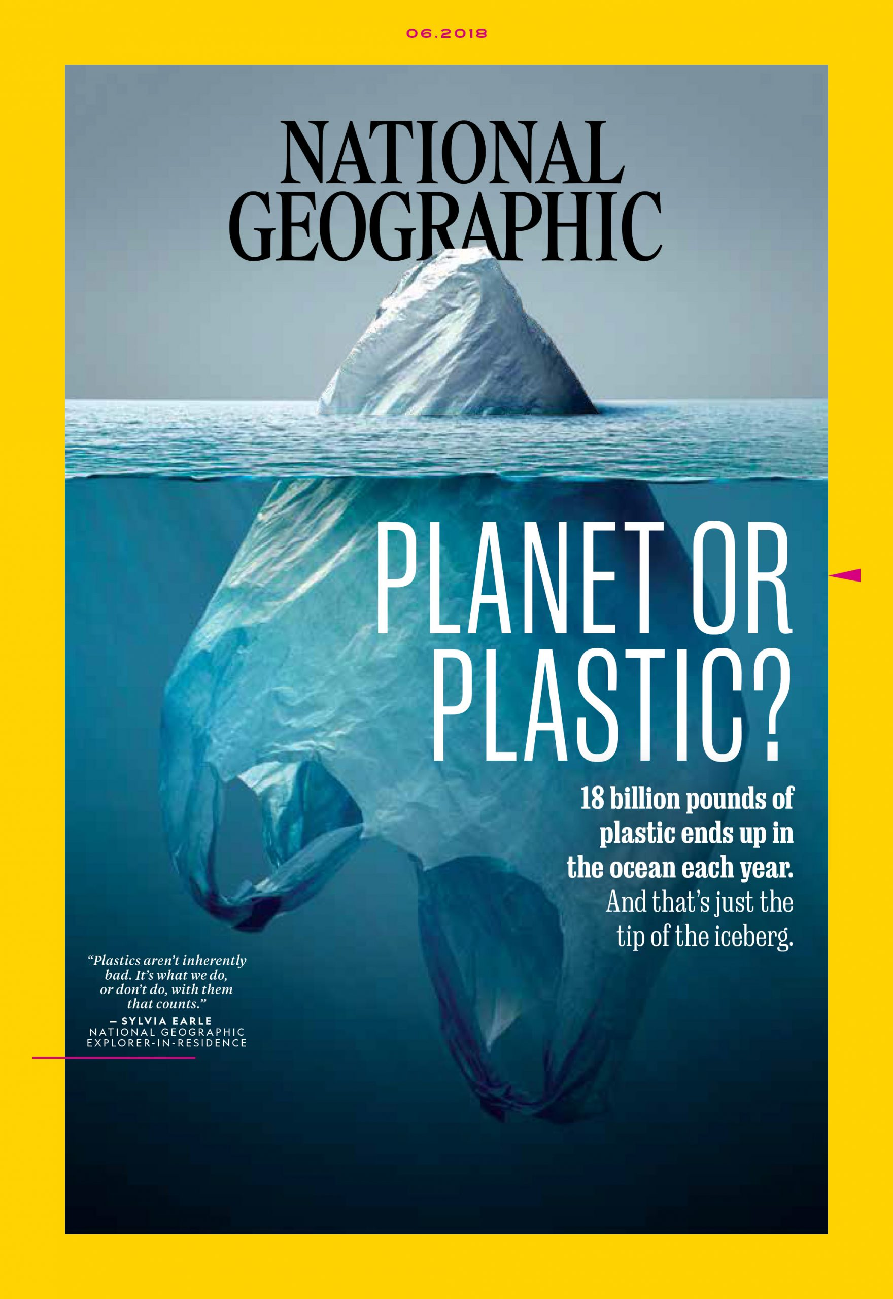 Photo of National Geographic June 2018 Cover