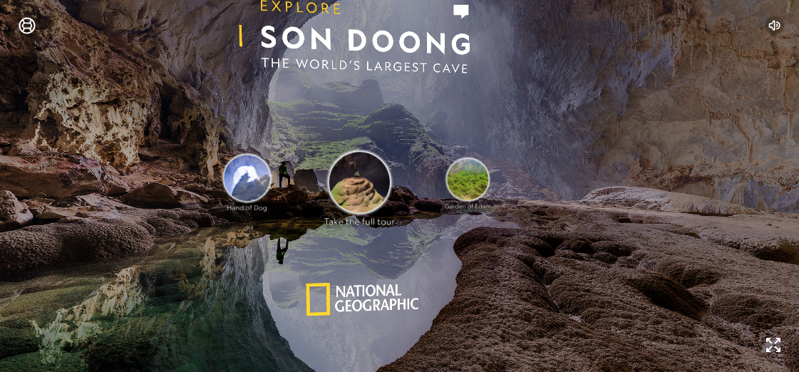 """picture of """"Explore the World's Biggest Cave From Your Couch"""