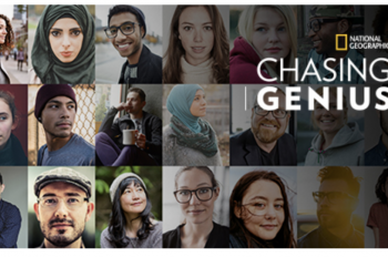 National Geographic's Chasing Genius Announces First Series of Challenges Enabling Anyone to Unleash Their Inner Genius And Win ,000 to Turn Their Ideas into a Catalyst for Change in the World