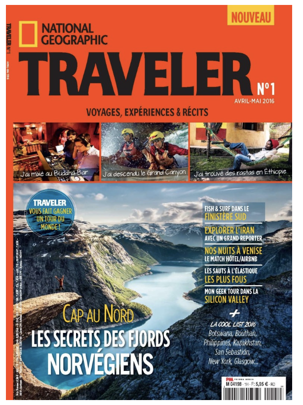 Picture of Nat Geo Traveler cover