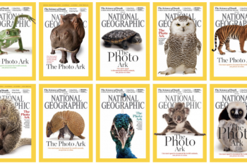 National Geographic Magazine's April 2016 Issue Features 10 Different Covers for the First Time in Publication's History