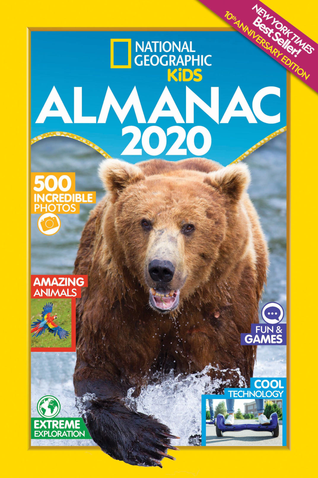 Photo of National Geographic Kids Almanac cover