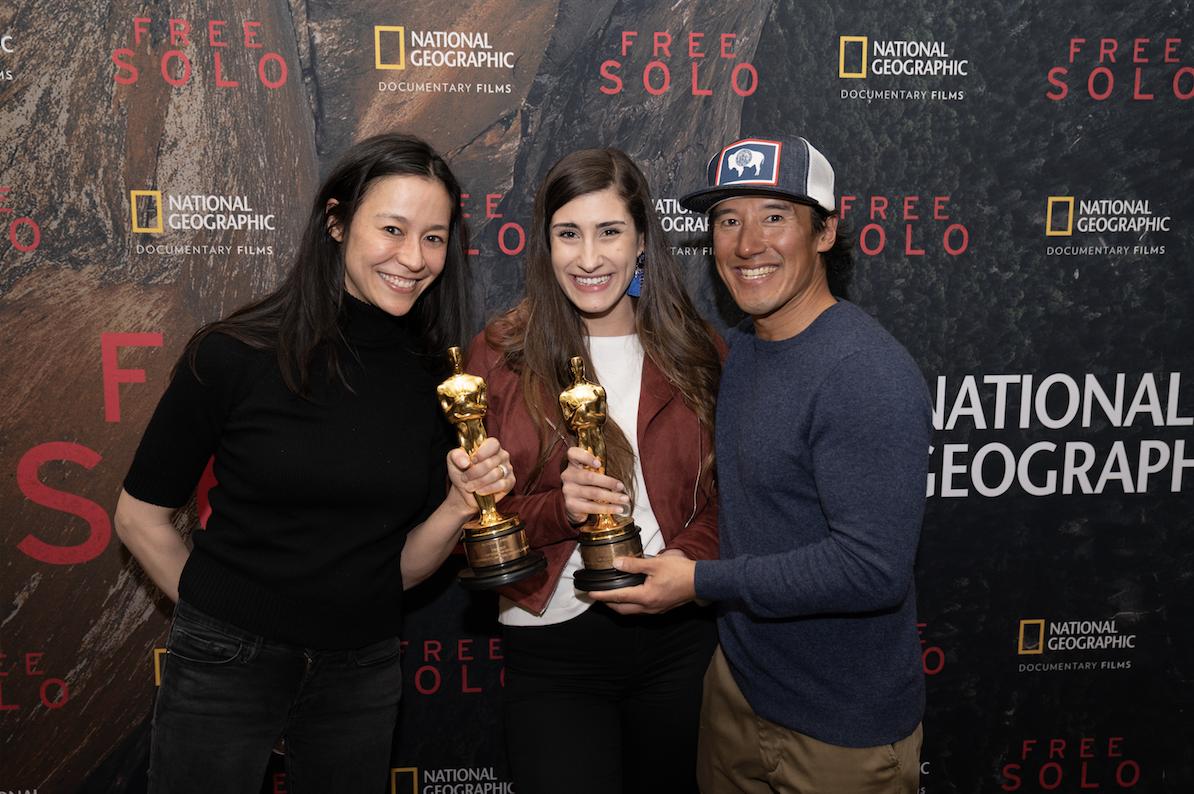Photo of National Geographic Staff Celebrating
