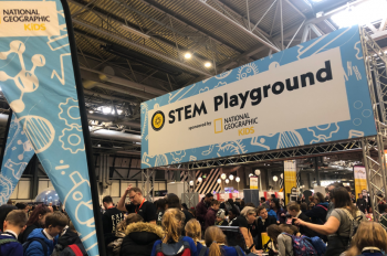 National Geographic Inspires Young Explorers at The Big Bang Science Fair