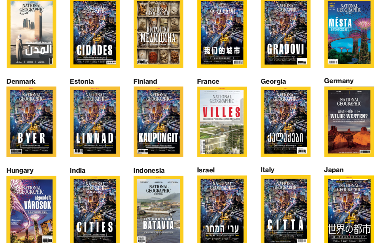 Photo of April covers of our local-language editions OG Image