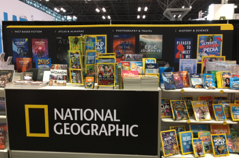 National Geographic Shines at BookExpo and BookCon