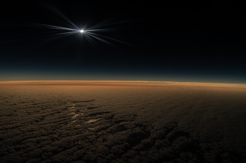 National Geographic Flight Gives Passengers Solar Eclipse View Over Chile