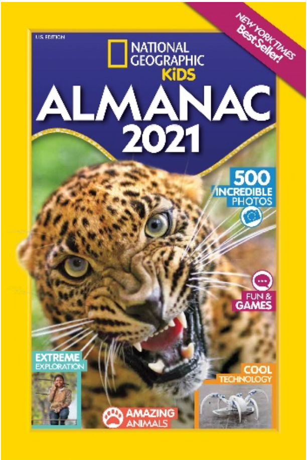 The World's Bestselling Almanac for Kids Features New Fun Facts and an Exciting Challenge for the Year Ahead