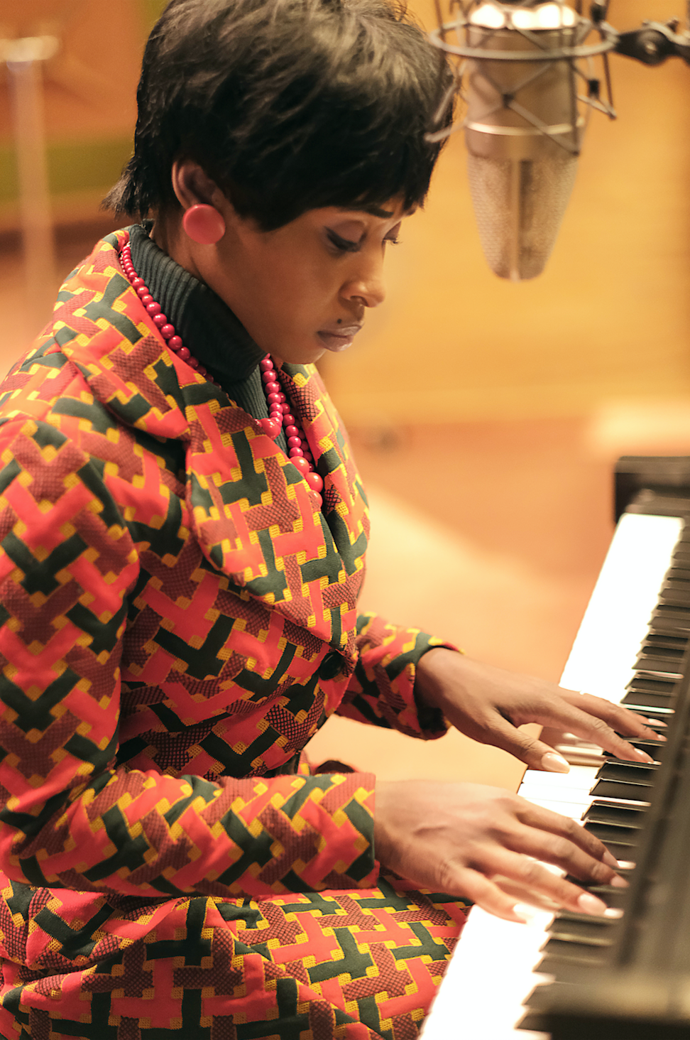 photo of Cynthia Erivo as Aretha Franklin