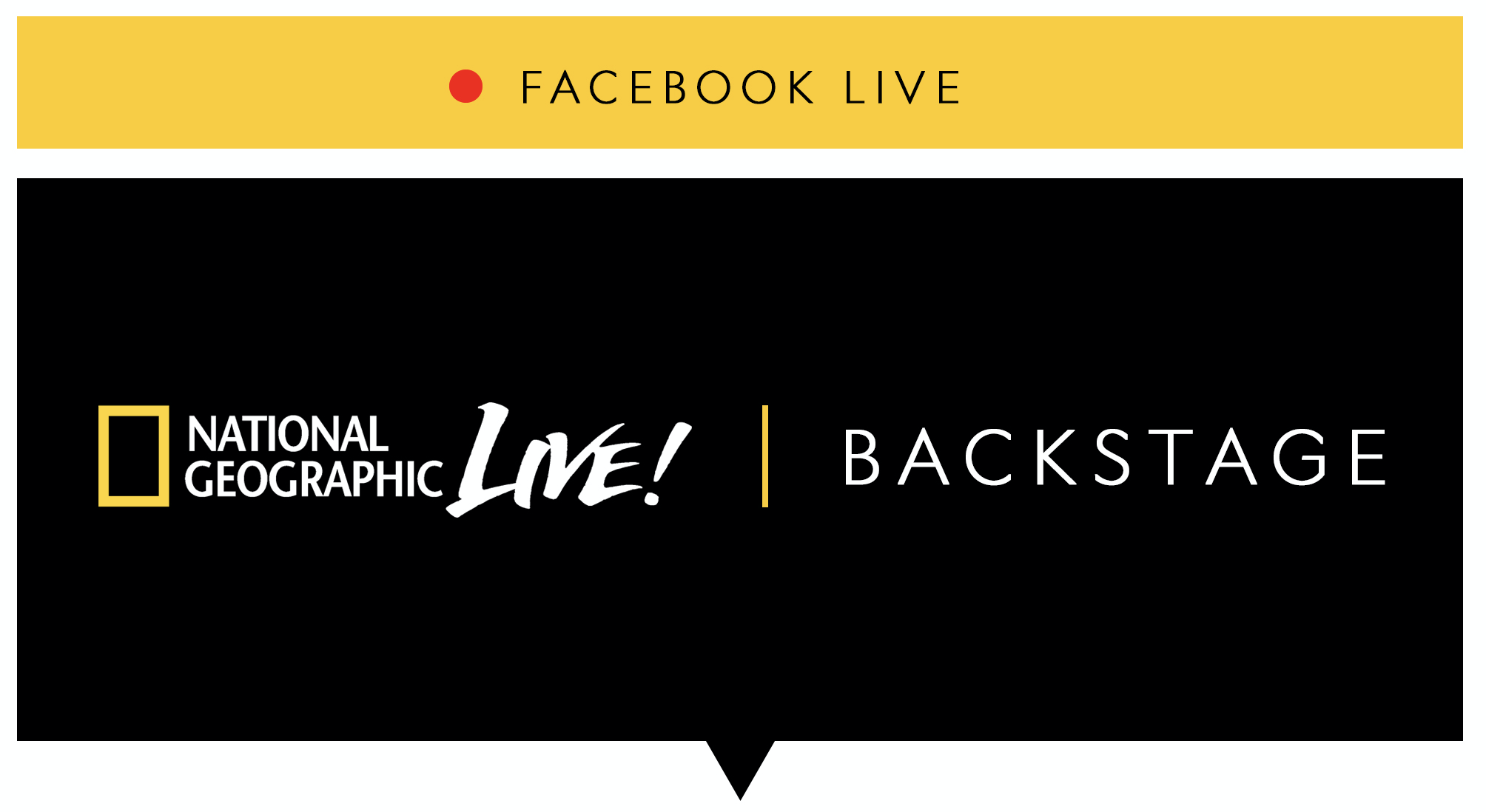 Media Advisory: National Geographic Launches Virtual Speaker Series on Facebook Live