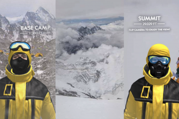 National Geographic Takes You to Mt. Everest in New Instagram AR Experience