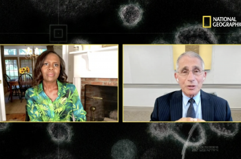 Dr. Fauci and More Experts Join National Geographic's Exclusive Conversation on COVID-19