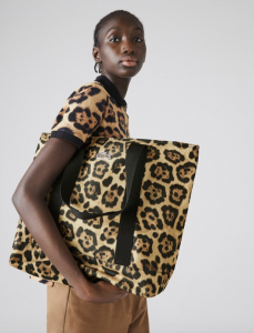 Women's Lacoste x National Geographic Animal Print Tote Bag