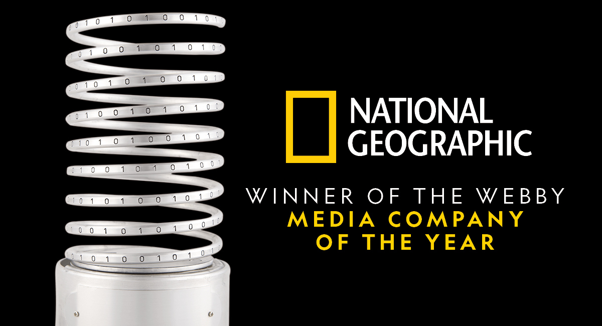 National Geographic Wins 15 Webby Awards, Including Media Company Of The Year