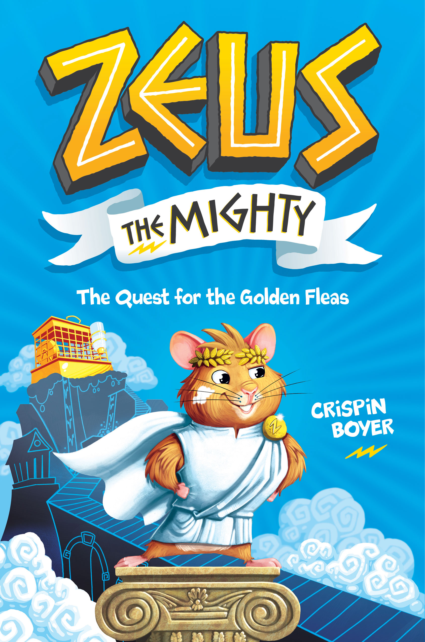 National Geographic Kids Debuts New Fiction Series, 'Zeus the Mighty: The Quest for the Golden Fleas'