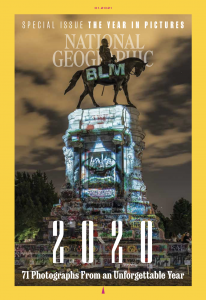January 2021 issue of National Geographic Magazine
