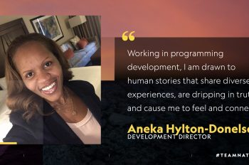 5 Questions With… Aneka Hylton-Donelson, Development Director