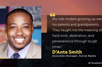 5 Questions With… D'Ante Smith, Associate Manager, Social Media