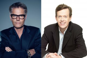 Harry Hamlin and Dylan Baker
