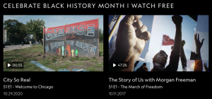 Black History Month collection on Nat Geo TV