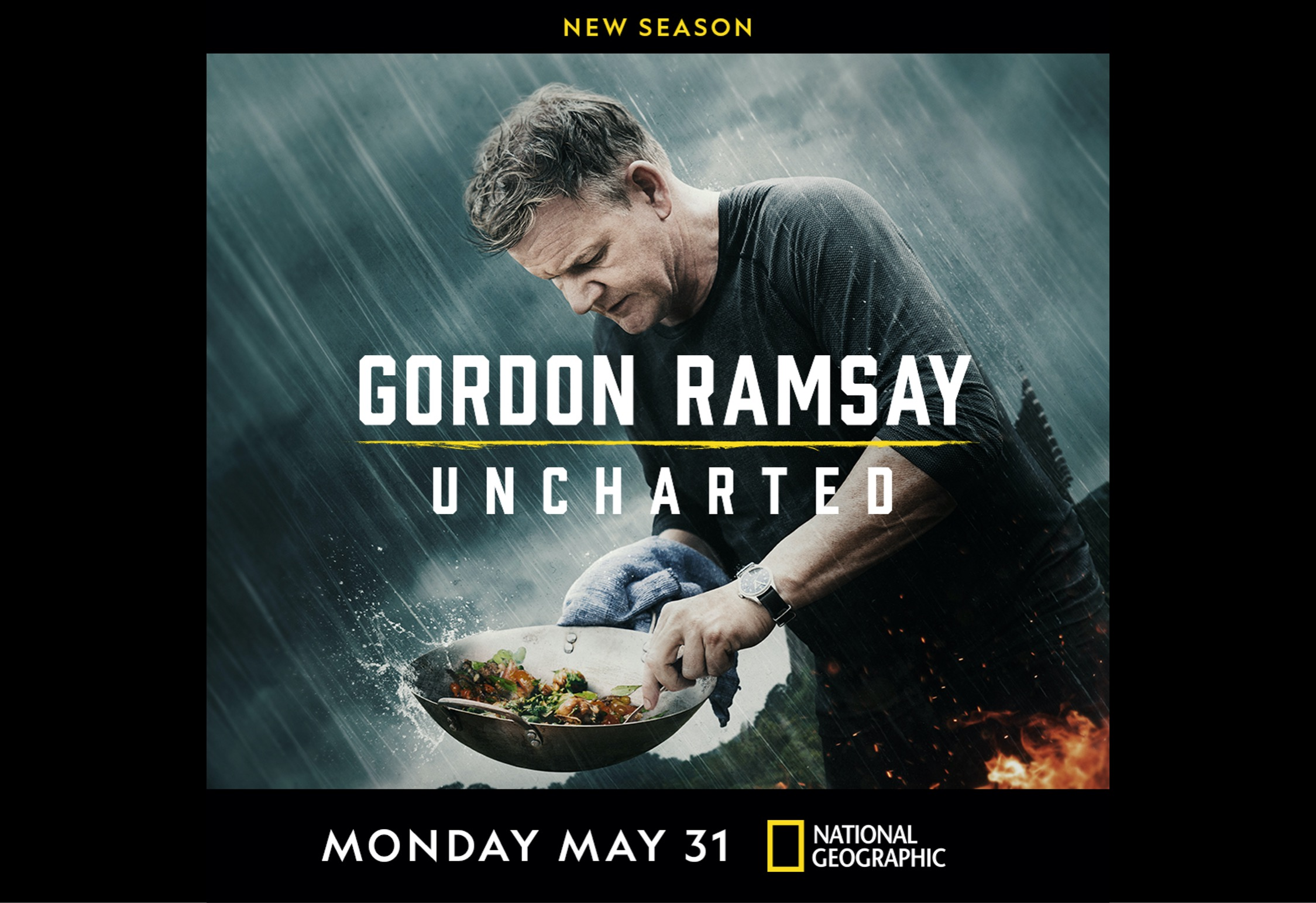 National Geographic's Cooking Expedition Series 'Gordon Ramsay: Uncharted' Serves Up the Season Three Premiere this Memorial Day at 9/8c, Available Next Day on Disney+