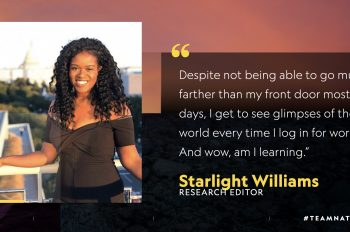 5 Questions With… Starlight Williams, Research Editor
