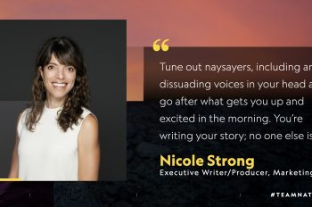 5 Questions With… Nicole Strong, Executive Writer/Producer, Creative Marketing