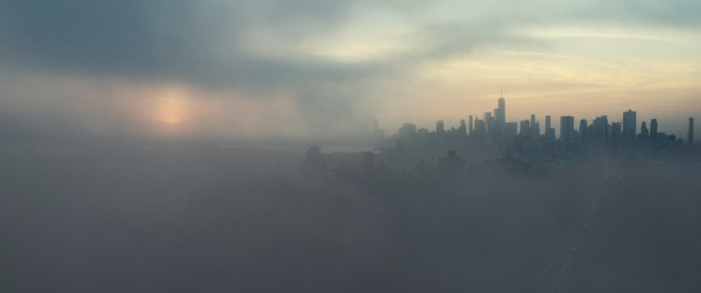 New York, NY - New York City at dusk.