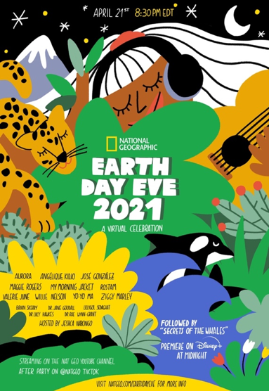 NATIONAL GEOGRAPHIC INVITES THE WORLD TO KICK OFF EARTH DAY WITH STAR-STUDDED EARTH DAY EVE CELEBRATION