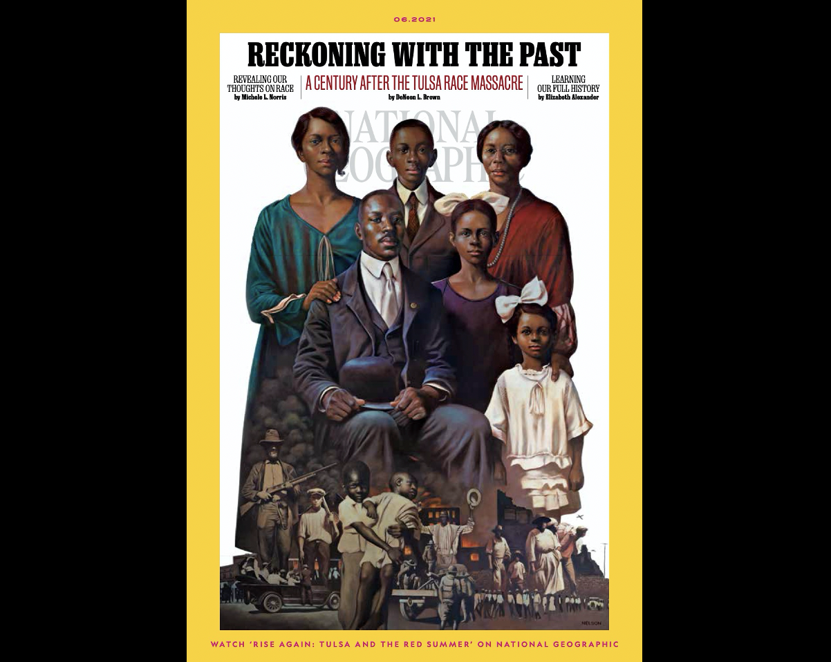 NATIONAL GEOGRAPHIC RELEASES JUNE MAGAZINE ISSUE, 'RECKONING WITH THE PAST,' EXAMINING RACE RELATIONS IN THE UNITED STATES